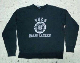Vintage Polo Ralph Lauren Big Logo Sweatshirt Saiz S