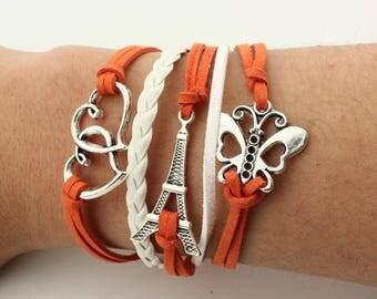 Multilayer Charm Bracelet