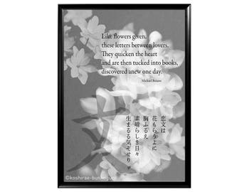 Tanka-Photo-Art  #03, Feelings we all have as seen by a western writer of classic Japanese poetry and Japanese photographers/designers.