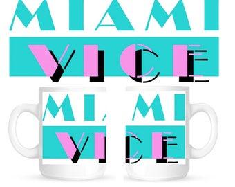 MIAMI VICE 11oz CERAMIC Mug