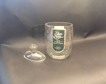 Elijah Craig Candle 23 Year Bourbon Whiskey Bourbon Bottle With/Without Attached Base Soy Candle. Made To Order !!!!!!!