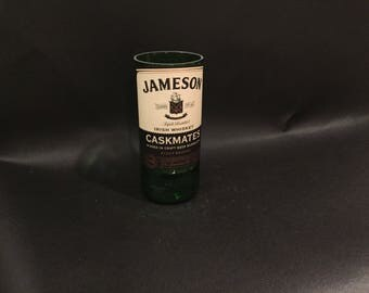 HANDCRAFTED Candle UP-CYCLED 750ML Jameson Caskmates Irish Whiskey Bottle Soy Candle. Made To Order !!!!!!!