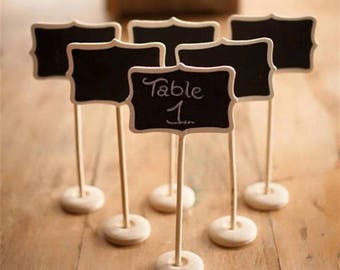 10 Chalkboards Place Cards