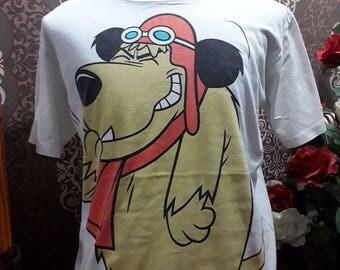 Vintage 90s Hanna Barbera Wacky Races Big Cartoon Logo T-Shirt Streetwear