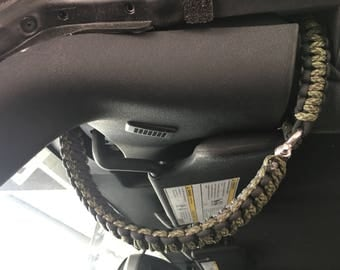 Jeep Wrangler Paracord Double Wrapped Grab Handles (4 Door) + Headrest