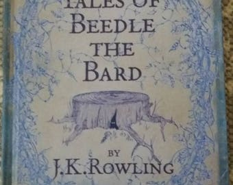Beedle the Bard by JK Rowling. 1st edition 2007