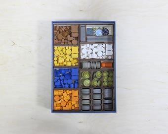 Terra Mystica board game insert,organizer, storage solution