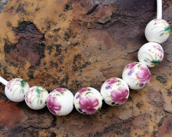 Beads with ceramic beads!
