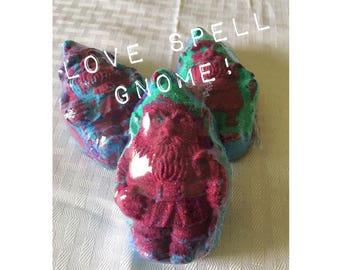 Love Spell Gnome Handmade Bath Bomb
