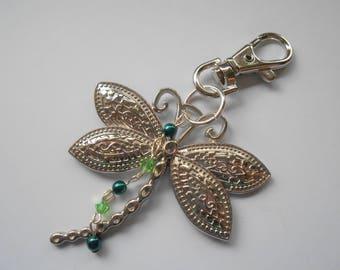 Dragonfly Keyring, Dragonfly Keychain, Dragonfly, Keyring, Keychain, Purse Charm, Handbag Charm
