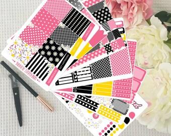 Daisy Weekly Sticker Kit Erin Condren Vertical Planner