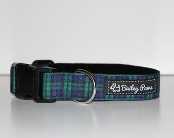 George Tartan Dog Collar