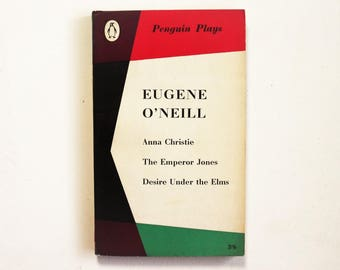 Eugene O'Neill - Three Plays - Penguin Plays Paperback book 1960 - Second hand books