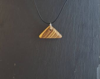 Zebrano Wooden Pendants