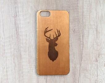 Oh Deer! - Personalised Wooden Phone Case