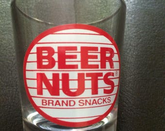Vintage Beer Nuts shot glass