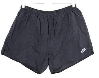 90's Nike Shorts Vintage Nike Running Shorts Nike Sport Shorts Black Nike Shorts with Pockets Nike Shorts Men's Nike Workout Shorts Size L