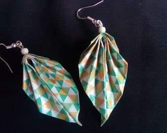 origami #27 earrings