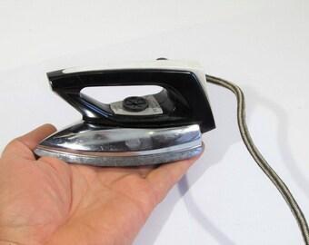 vintage electric iron 70s