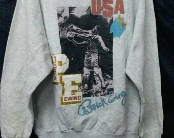 Vintage 80s Patrick Ewing NBA sweatshirt L