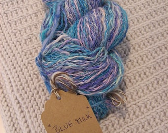 BLUE MILK, hand-spun yarn