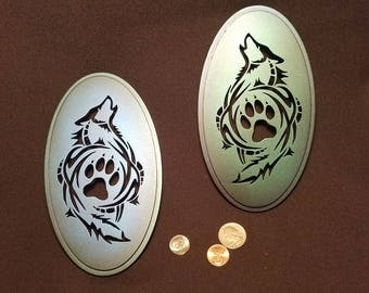 A beautiful pair of Wolves _ Wall Hanging
