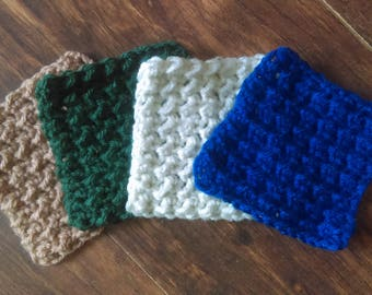 Crochet Dish Scrubbies