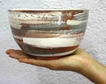 Earthenware Pottery Bowl