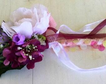 Bridesmaid wand or flower girl wand