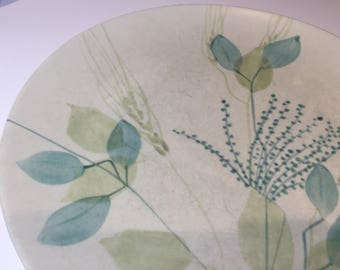 6 Plates Red Wing China Merrileaf