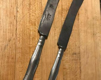 2 Vintage Butter Knives