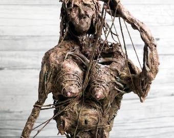 MORTA FATES - Mixed media Sculpture