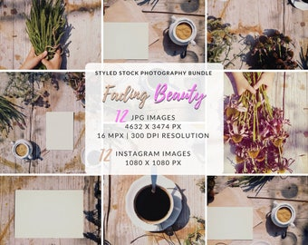 Styled Photo Shoot, Social Marketing Photo, A4 Mockup, Styled Photo Shoot, Your Design Here, Instagram Photo Package, Blog Photo Package