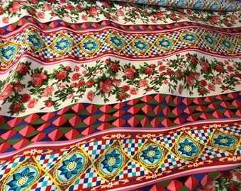 Mambo thin viscose fabric. Viscose fabric for dress. Fabric in patterns.
