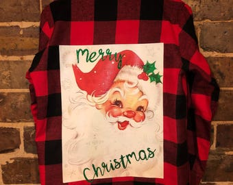 Kids Christmas Flannel