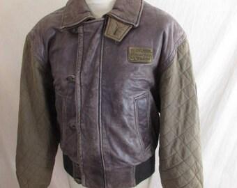 Rare Vintage Harley Davidson leather jacket size M