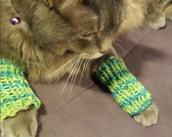 Pet leg warmers. Set of two (2)