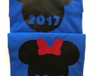 Matching Disney Shirts/Personalized Family shirts