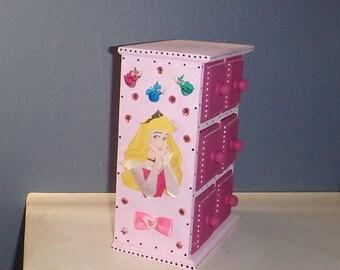 Sleeping Beauty Aurora Personalized Jewelry Keepsake Box