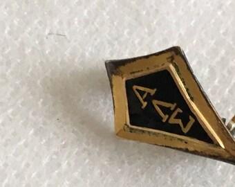 Alpha Lambda Sigma Frat pin