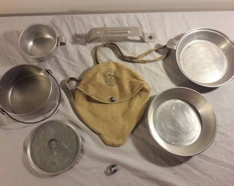 Vintage Boy Scout Cooking Kit