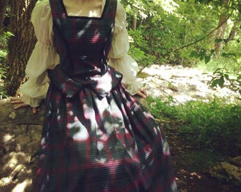 Outlander Plaid Dress