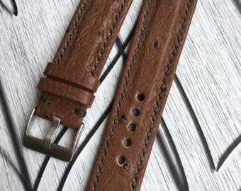 Sell real ostrich Strap 23 mm