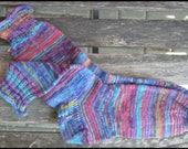 """Handgestrickter Socken Gr. 38/39 """"HappyScrappy"""""""