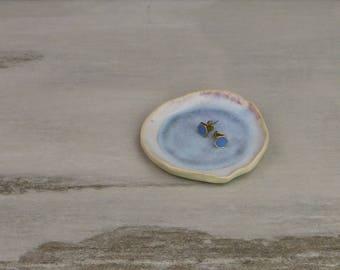 Ring Dish Jewelry Holder Ceramic plate