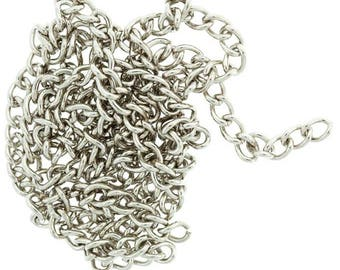 Thick chain bathed in Nickel