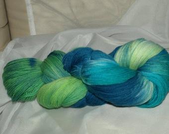 Lanartus fine-Merino-socks 4-fold, hand dyed
