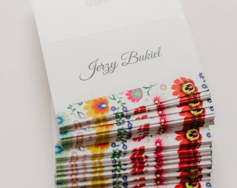 Folk wedding place cards / Folk wedding / Folk place card / Wedding decorations / Floral place card/ Whimsical / Colorful wedding cards