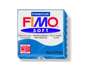 Polymer clay Fimo Soft 57 g - n - 37 Pacific Blue