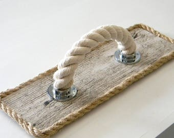 Handle for drawer Rope.. Cotton Rope.. Furniture accessories..Nautical Decor..marine fittings..